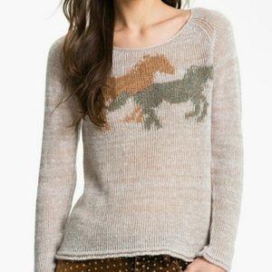 Free People Pony Ride Sweater